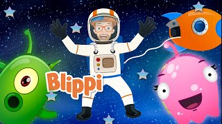 Blippi Learns About Space | Outer Space Song | Educational Songs For Kids | Blippi Songs