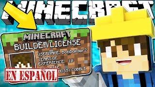 Si Necesitaras Una Licencia de Constructor para Construir - Minecraft