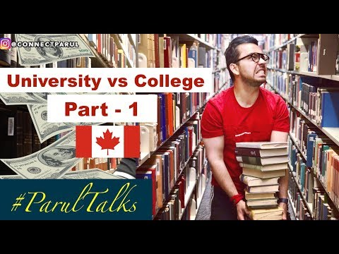 University vs College in Canada - 1