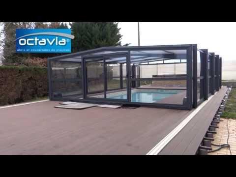 Abri haut de piscine t lescopique octavia abris piscines for Octavia abri piscine