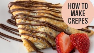 crepe batter tutorials