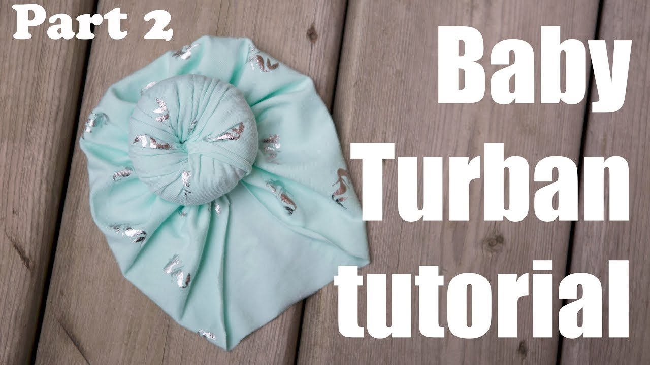 Turban hat baby hat