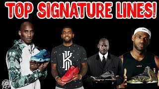 Top 5 Best Signature Basketball Shoe Lines of All Time!