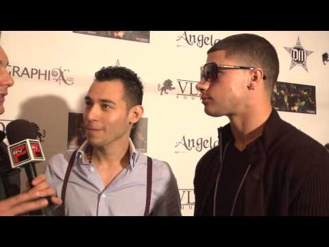 Interview with LNY and Lombardo at Preso Music Video Release Party