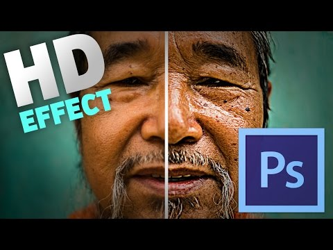 How To Make a Photo HD [Photoshop CC Tutorial]