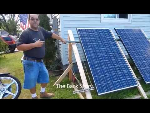 Solar Install 2500 Watts Grid Tied  Part 1