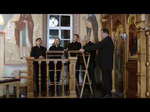 Хор Валаамского монастыря. Концерт на Валааме.