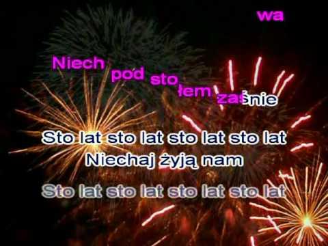 Karaoke   Biesiadka   Wiązanka 4 Przyśpiewek Okazjonalnych, Sto Lat ( Www.letsing.pl )