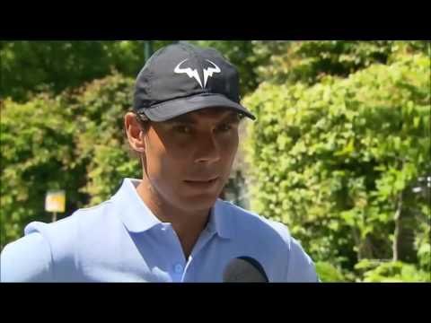 Rafael Nadal Interview at RG, 26 May 2017