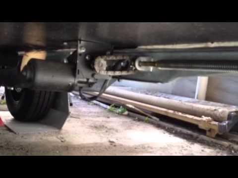 Piedini Elettrici Caravan Fai Da Te Youtube