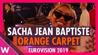 Sacha Jean Baptiste (Staging Director) @ Eurovision 2019 Red / Orange Carpet Opening Ceremony