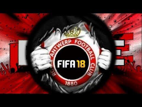 FIFA 18: EEN CAREER STARTEN MET ROYAL ANTWERP !! (Regels) - SJIPOEPII