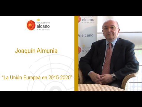 Joaquín Almunia - La Unión Europea en 2015-2020