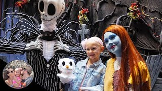 HUGE Halloween SURPRISE from Jack & Sally! (They're so sweet!) | Disneyland vlog #77