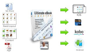 Ultimate eBook Creator - eBook Creator Software for Kindle, IOS and Android