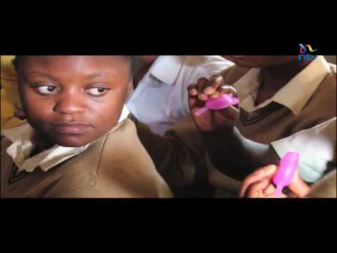 Keeping girls in schools: Menstrual cup introduced for girls in slum areas