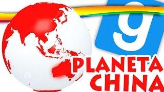 GMOD, O PLANETA CHINA! Garry's Mod