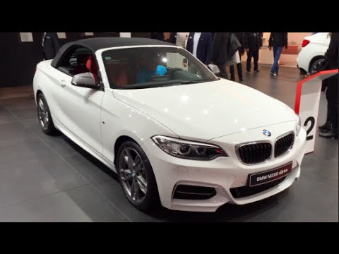 Bmw M235i Xdrive Convertible 2016 In Detail Review Walkaround Interior Exterior