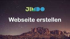 Jimdo Tutorial - Kostenlos eigene Webseite erstellen   Anmeldung, Grundlagen und Tipps