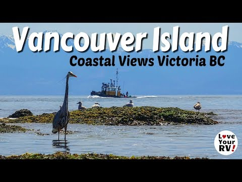 Coastal Views From Vancouver Island -  Victoria BC (Harbour And Clover Point)
