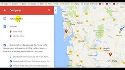 How to add markers and pins in Google maps