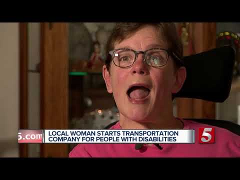 Woman to start new transportation company for the disabled, elderly
