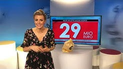 Zwangsausschüttung beim Lotto 6aus49 am Samstag, 29. Juni 2019