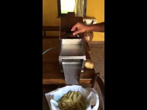 Coupe frites french fries machine youtube - Machine a couper les frites ...