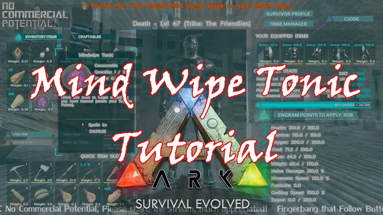 How to make ark survival evolved mind wipe tonic recipe aka amnesiac how to make ark survival evolved mind wipe tonic recipe aka amnesiac soup forumfinder Images