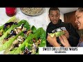 NO CARB MEAL- Sweet Chili Lettuce Wraps - Shrink your waist healthy recipe