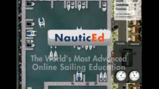 Catamaran maneuvering game