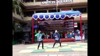 Dougie & Jerkin Dance SMPN 21 JAKARTA