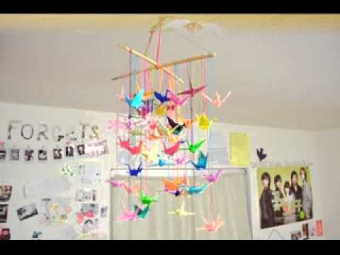 Art and craft decoration ideas youtube for Art and craft home decoration