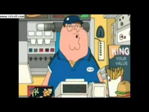 Family guy Burger king song