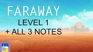 Faraway: Puzzle Escape: Level 1 Walkthrough + All 3 Letters / Notes (by Mousecity & Pine Studio)