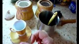 Как варить Кофе в Турке.(Вы пьете кофе каждое утро? Вы не представляете себе жизнь без этого напитка? Вы каждый день готовы тратить..., 2012-10-31T14:58:12.000Z)