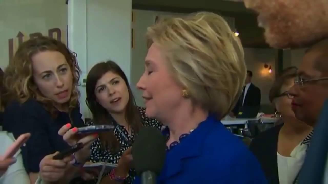 клинтон хиллари припадок фото