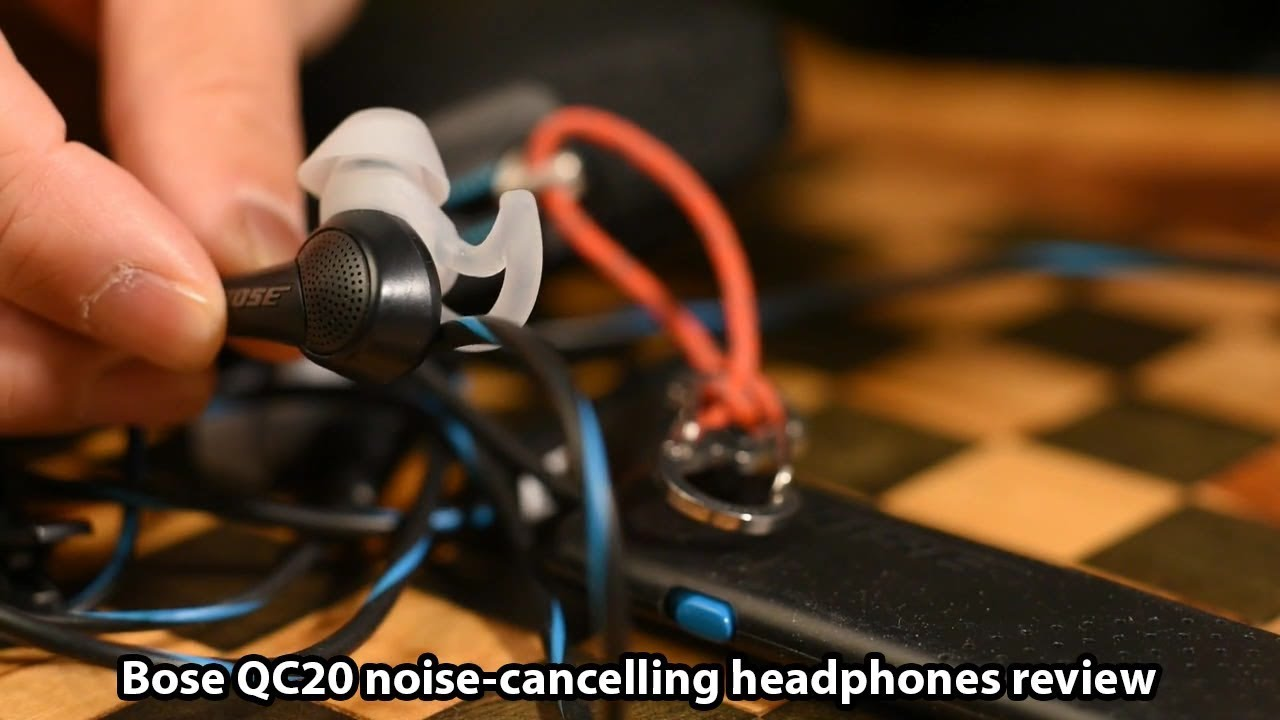 Bose QuietComfort 20 noise-cancelling headphones review