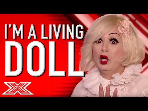 Is This The STRANGEST X Factor Audition...EVER? | X Factor Global