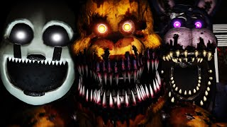 WE ARE BACK AGAINST THE NIGHTMARES... || FNAF THE GLITCHED ATTRACTION