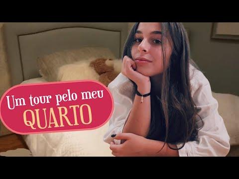 TOUR PELO MEU QUARTO   Vlog Helena Amador