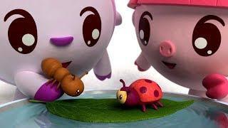 Детские песенки - МАЛЫШАРИКИ - Умные песенки: Насекомые 🐝 Развивающие и обучающие песенки для детей