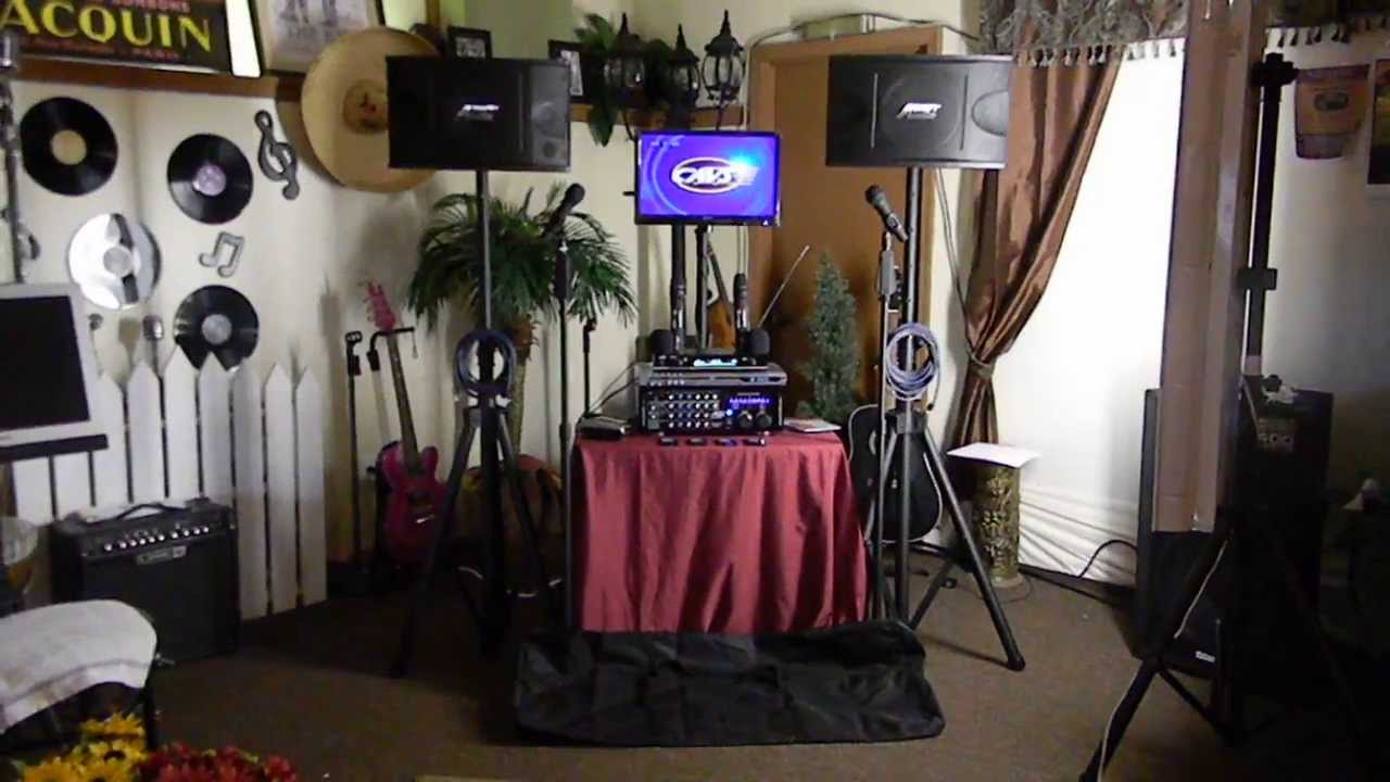 Complete Professional Karaoke System Karaoke Equipment Karaoke Audio