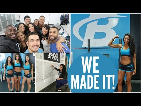 WE MADE IT TO BBCOM HEADQUARTERS: DAY 1 || 2017 Bodybuilding.com Spokesmodel Search Series