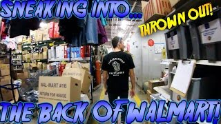 DOING YOUR DARES IN WALMART 2 (SNEAKING INTO THE BACK OF WALMART) // MILK GALLON SMASHING