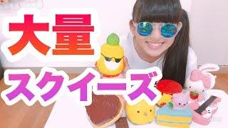 大量スクイーズ紹介!!おっきいスクイーズがあるよ!! thumbnail