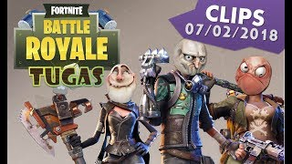Tuga Mania Gaming - FORTNITE CLIPS 07/02/2018