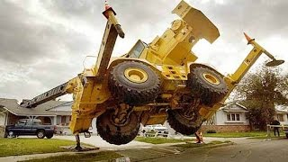 heavy equipment accidents caught on tape compilation  - PART 3