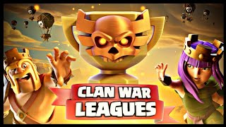 All of my Seven Town Hall 10 Attack Replays from Clan War League S02 | Clash of Clans