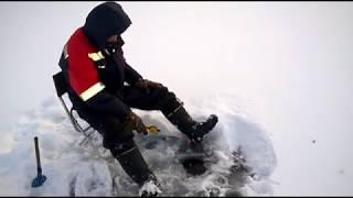 Зимняя рыбалка 2019 - 2020 сезон открыт идём второй раз на озеро.